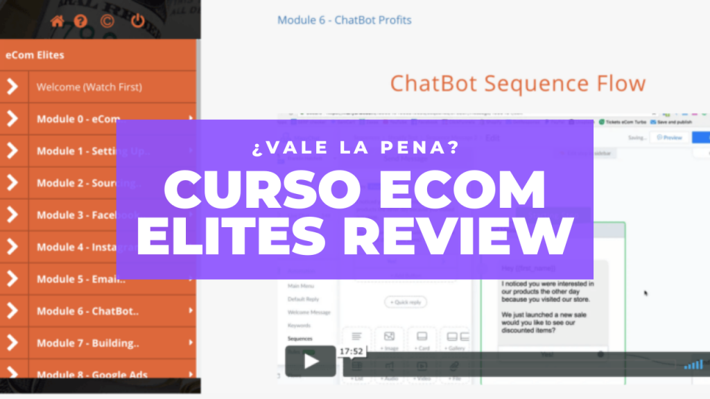 Curso Ecom Elites Review