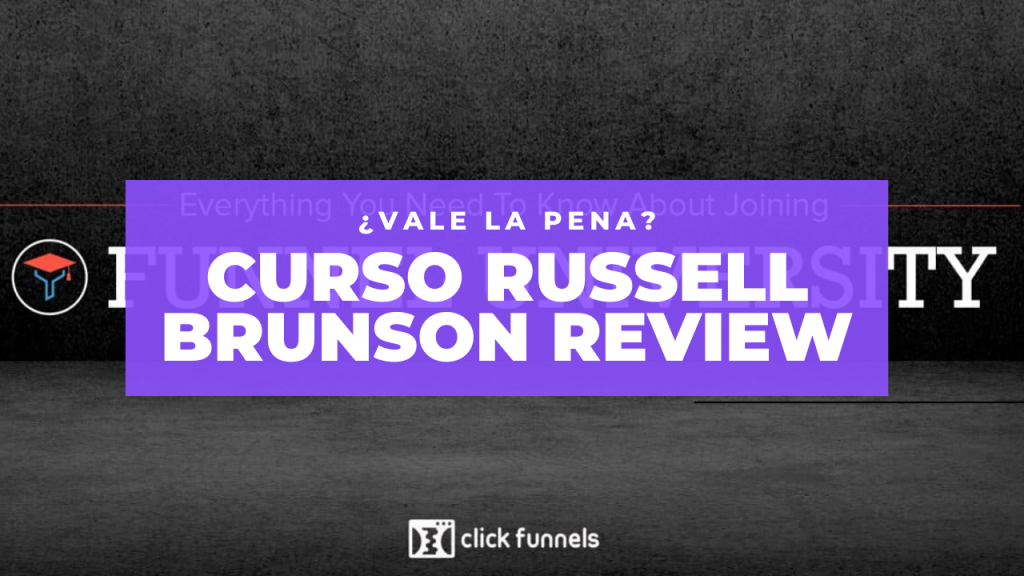 Curso Russell Brunson Review