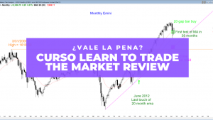 curso Learn to trade the market REVIEW