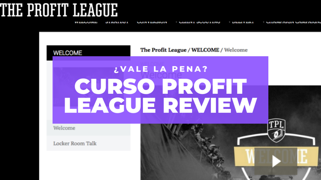 curso profit league review